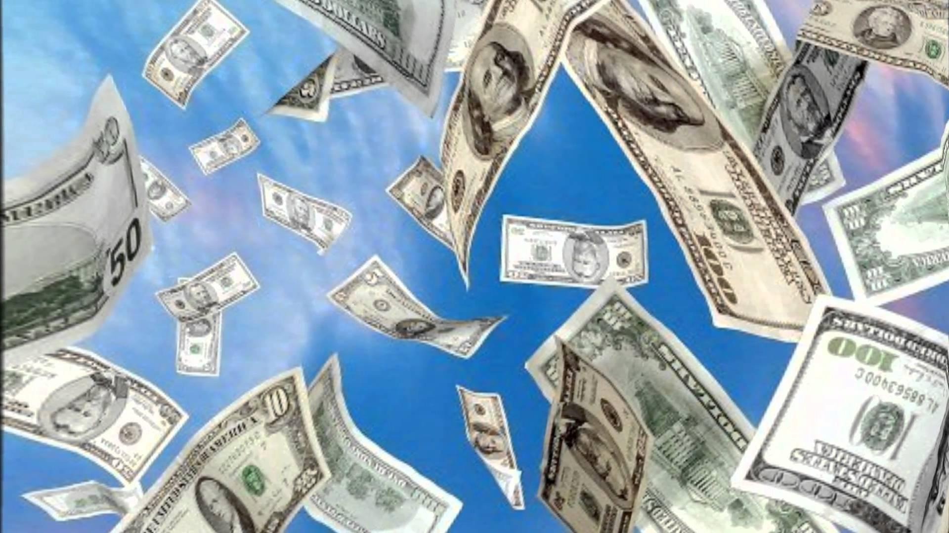 Падающие Деньги Живые Обои