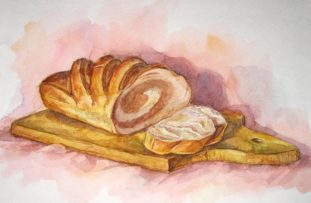 картинки карандашом хлеб как нарисовать псориаз бедрах